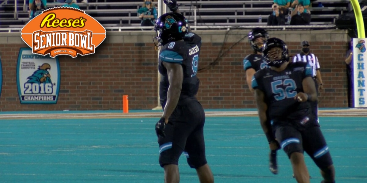 CCU defensive end Tarron Jackson invited to 2021 Reese's Senior Bowl