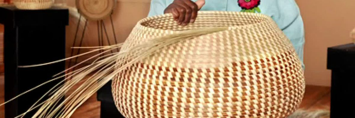 Black History Spotlight: Mary Jackson receives national recognition as 'sweetgrass basketweaver'