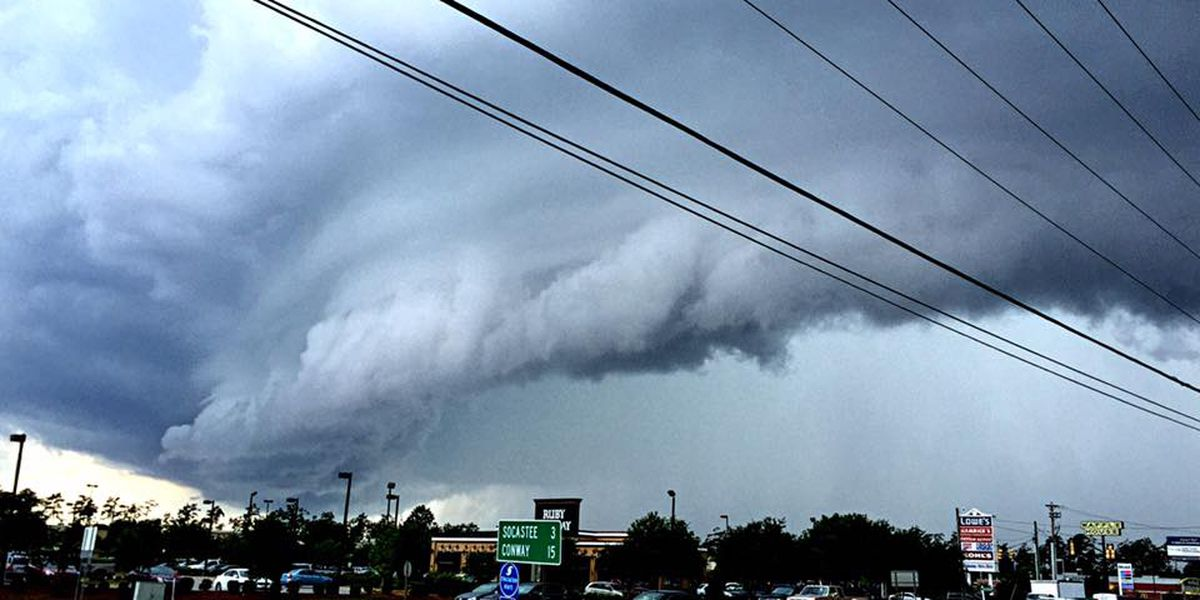 So just what is a shelf cloud?