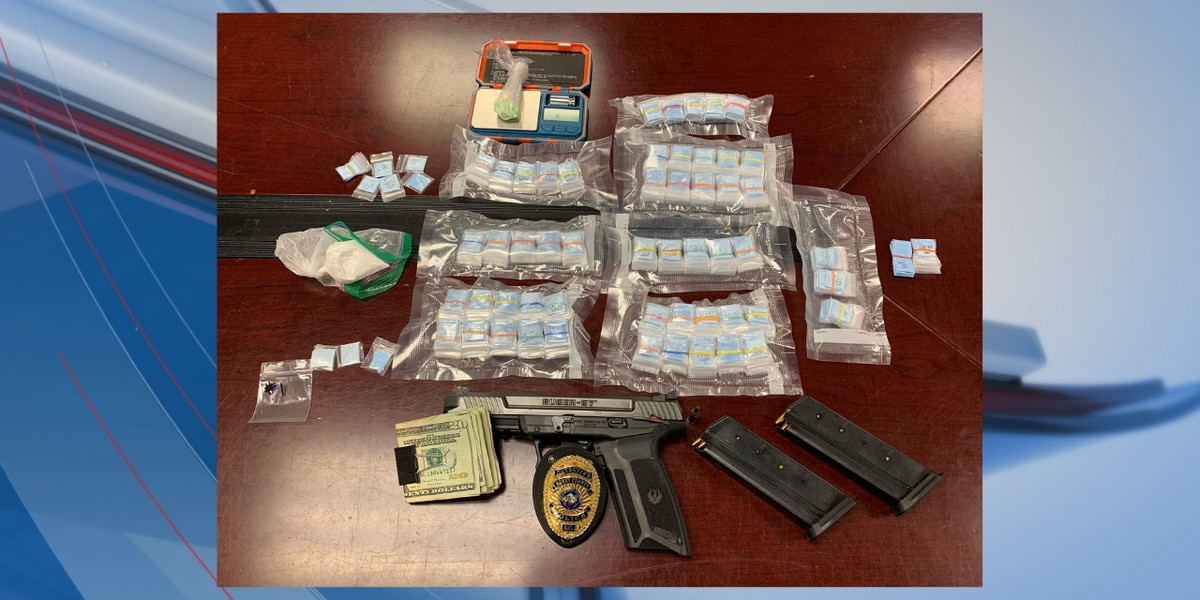 Horry County police seize meth, heroin and fentanyl from home, two arrested