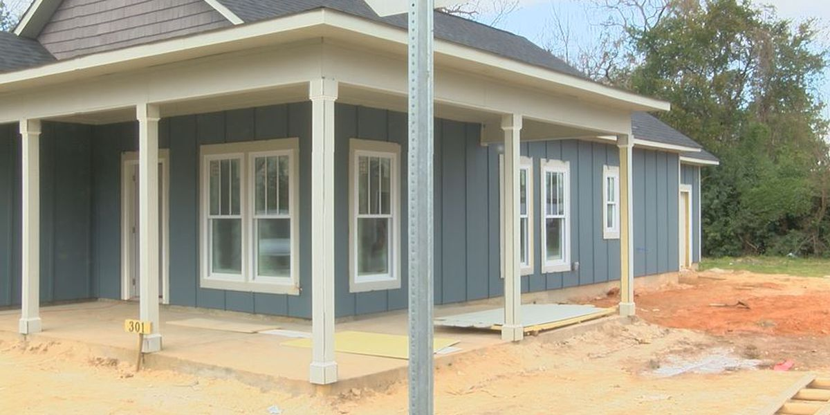 More homes being built in Florence as part of Neighborhood Redevelopment Program