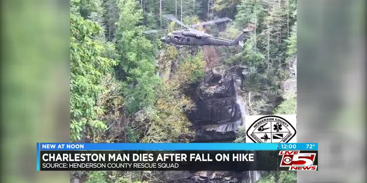 VIDEO: Charleston man dies after falling from NC waterfall, officials say