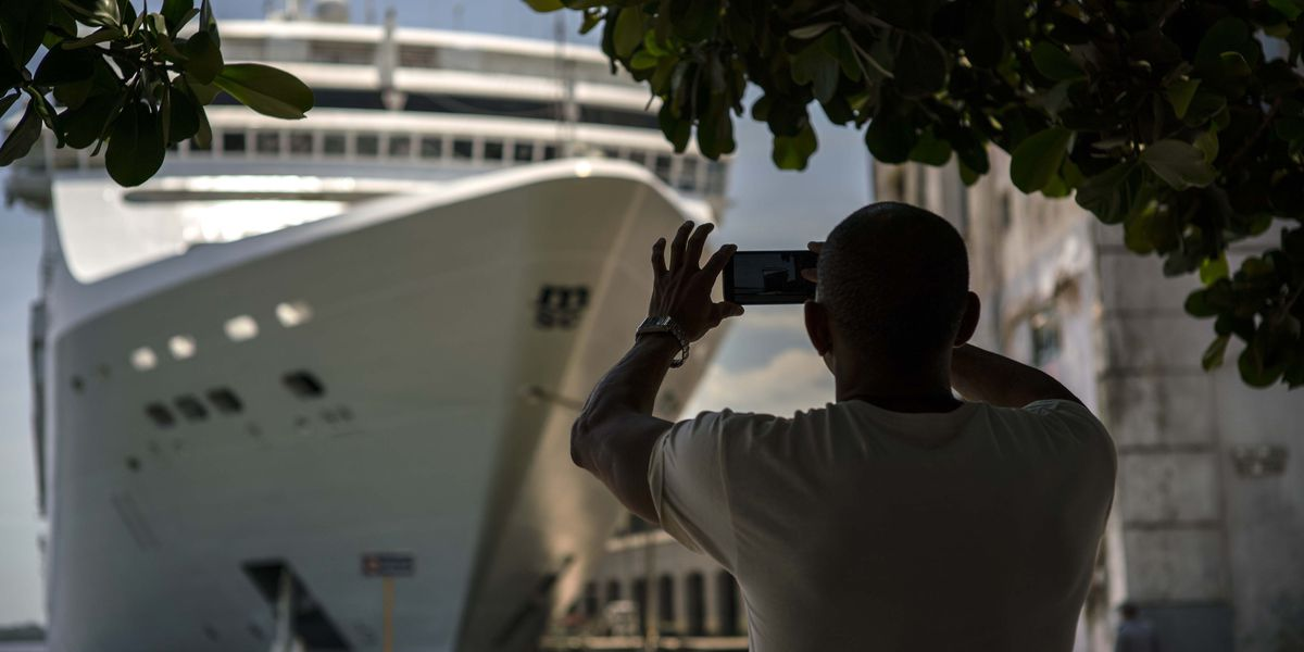 Scientology cruise ship quarantined in St. Lucia after report of measles on board