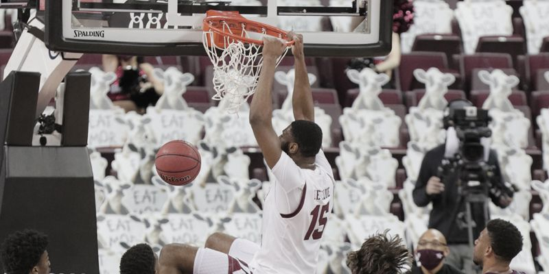 Lawson torches Aggies for 30 in dominant win for Gamecocks