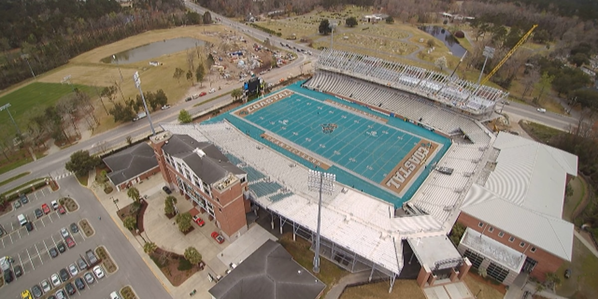 Brooks Stadium expansion project 'on schedule' as it enters final phase