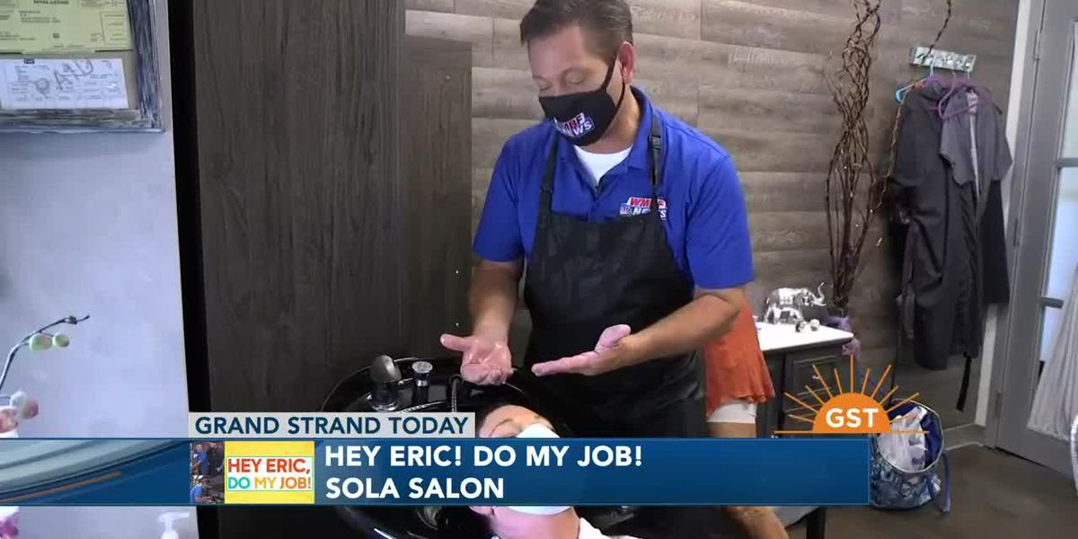 Hey Eric, Do My Job!: Trying out styling at a hair salon