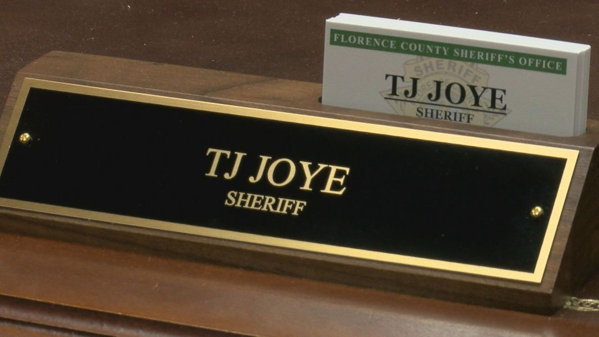 Florence County Sheriff moving office forward while putting politics aside