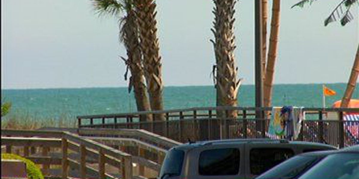 Swim advisory issued for portion of beach in North Myrtle Beach