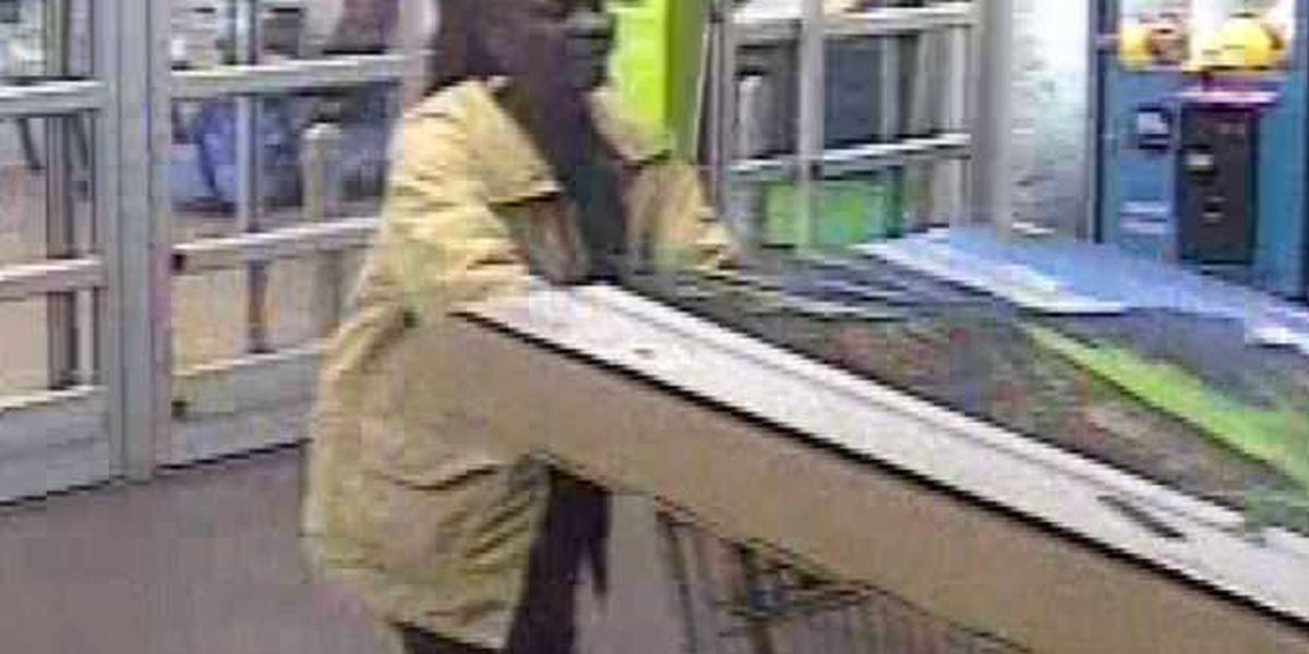 Person wanted for questioning in shoplifting case