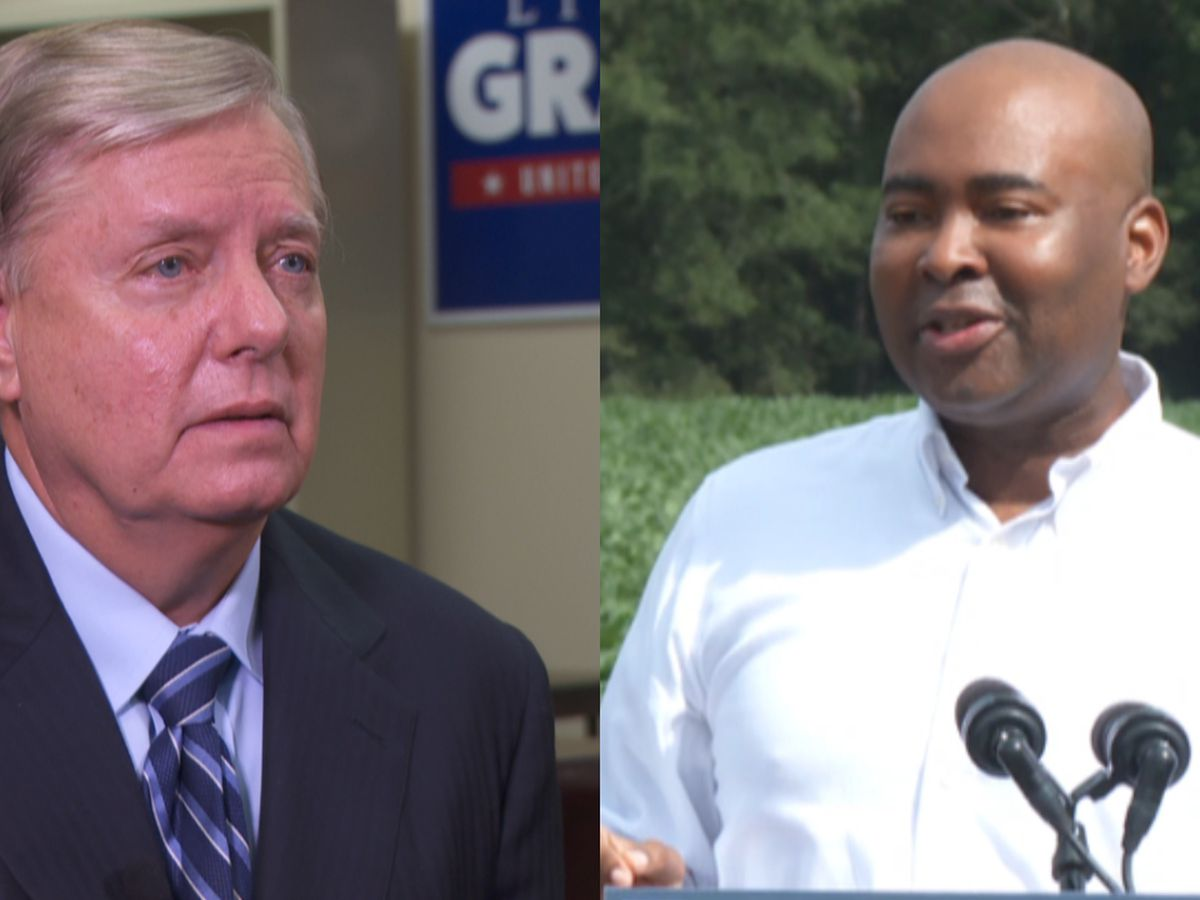 New poll shows Harrison taking narrow lead over Graham in Senate race