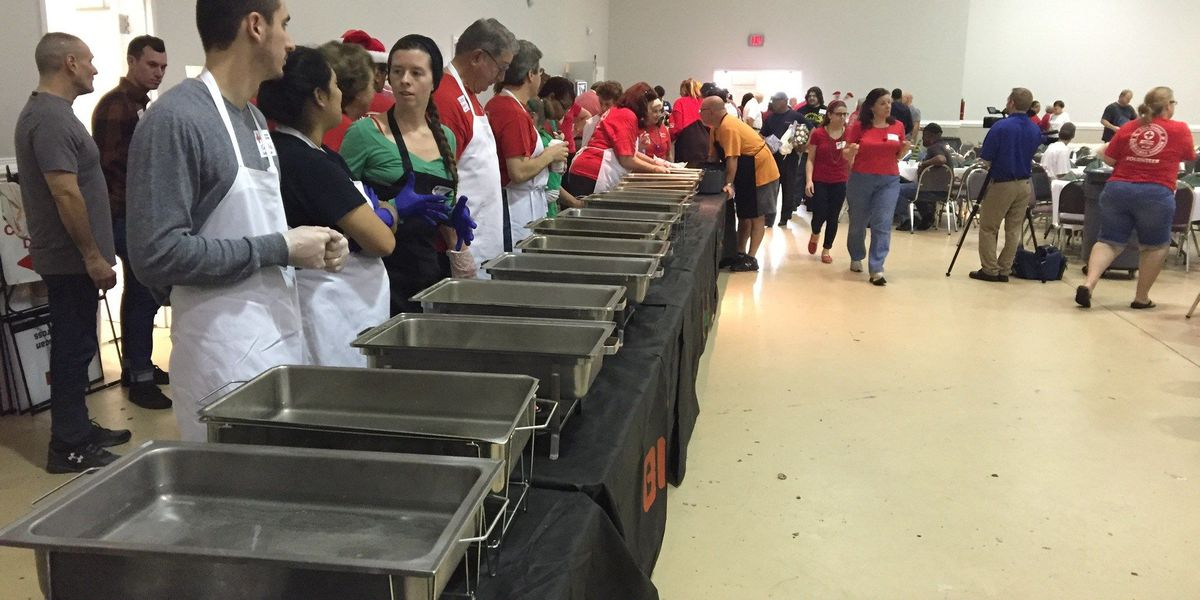 Red Cross throws 27th annual Christmas Dinner for families in need