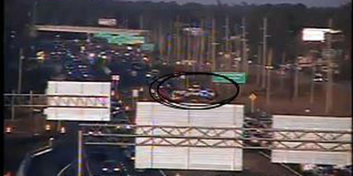 Crash closes lanes on Highway 17 near backgate