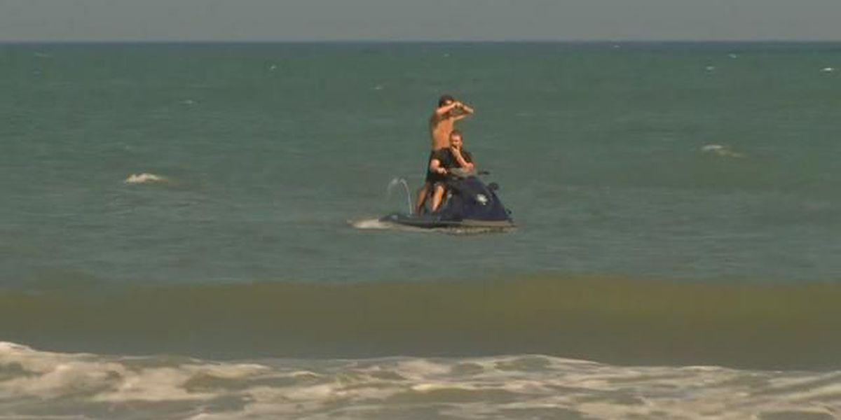 UPDATE: Swimmer rescued from ocean in Myrtle Beach has died