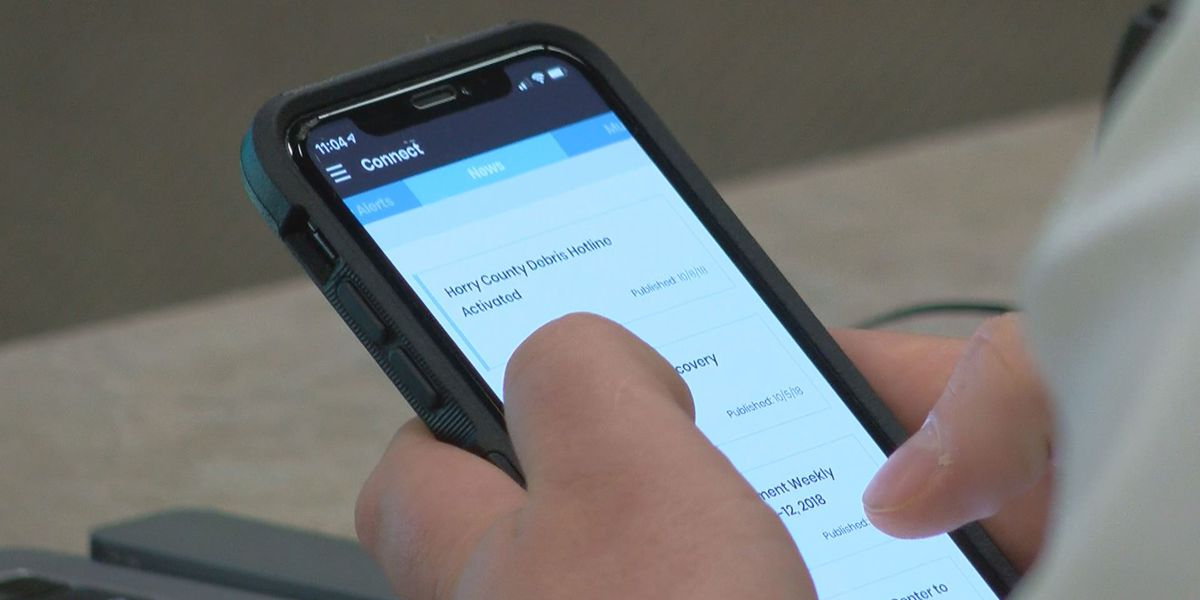 Horry County launches smartphone app