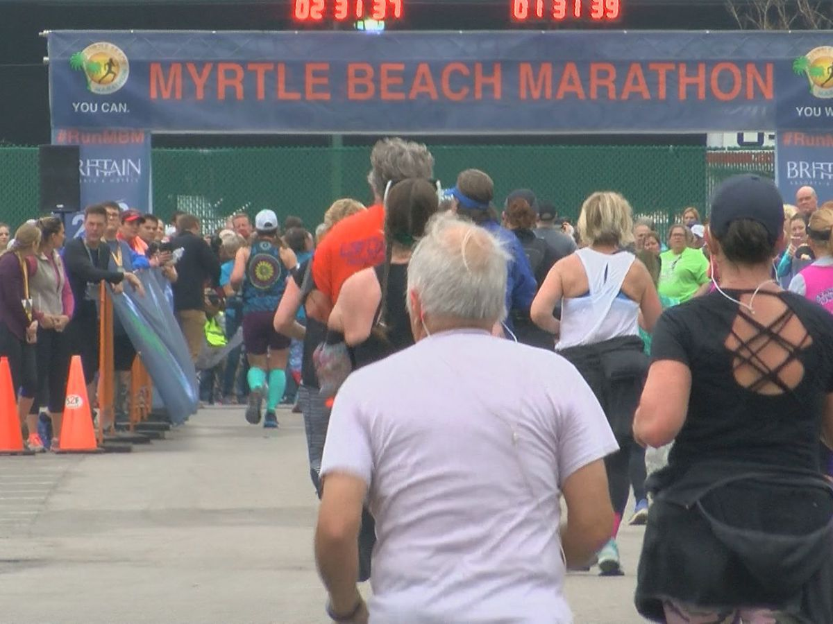 Myrtle Beach Marathon moving from March to May, according to city officials
