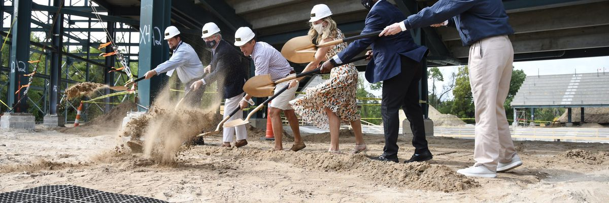 McMaster joins groundbreaking ceremony at new tennis stadium
