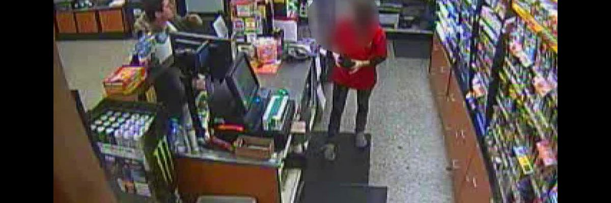 RAW: Theft from Georgetown County convenience store