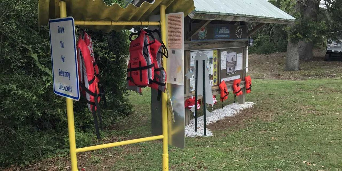 Life jacket loaner program launched in Murrells Inlet