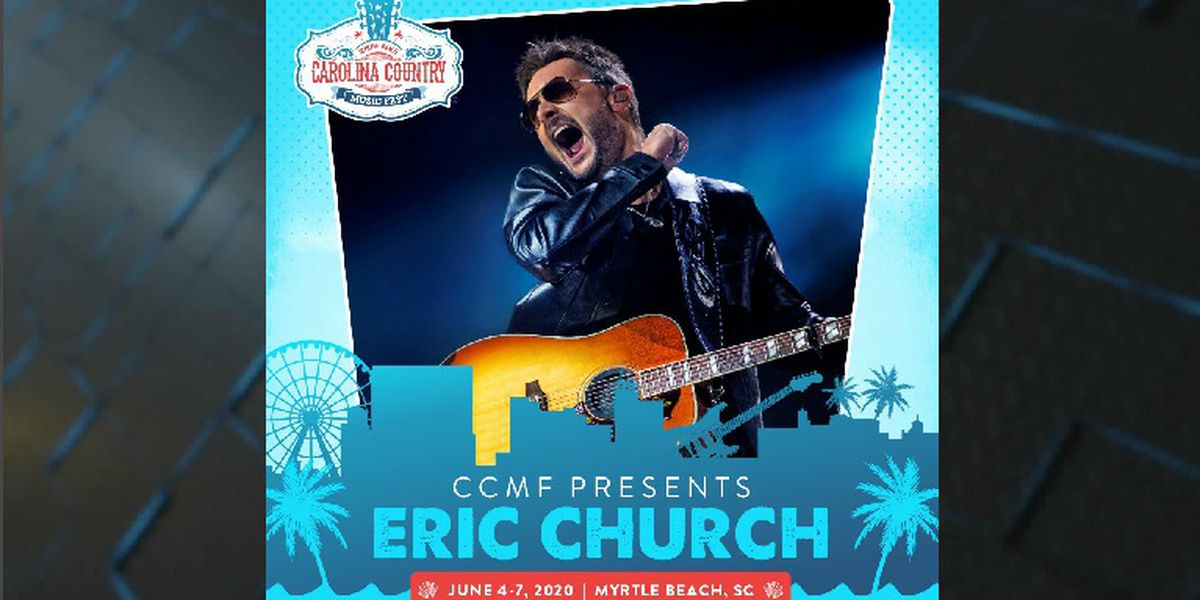 Eric Church to headline 2020 CCMF