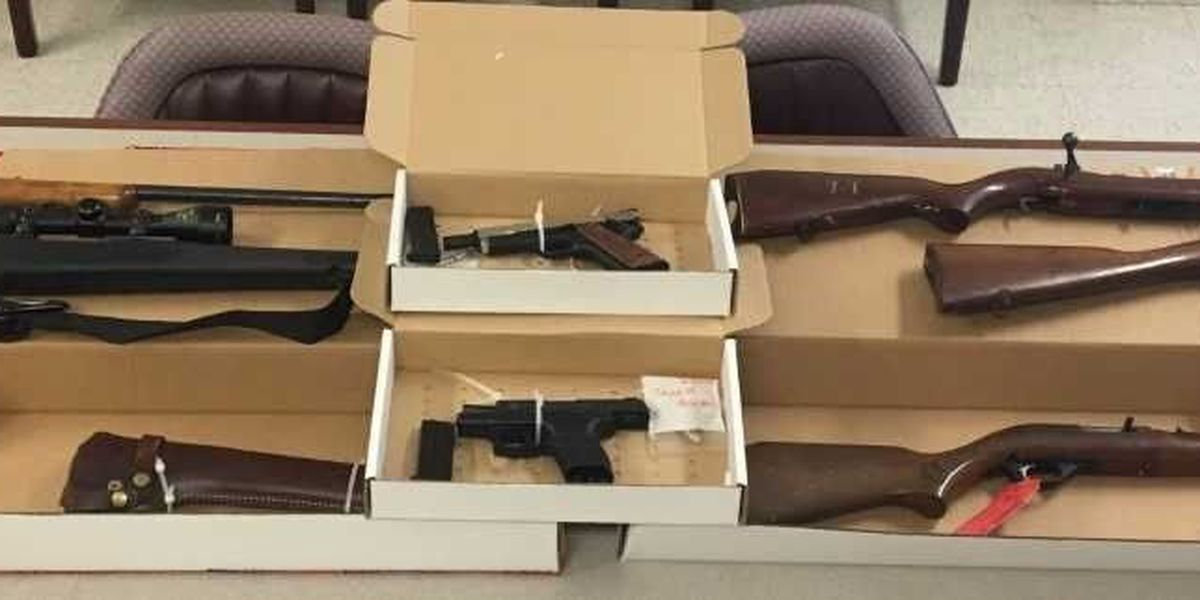Darlington County authorities recover stolen guns, drugs during execution of search warrant