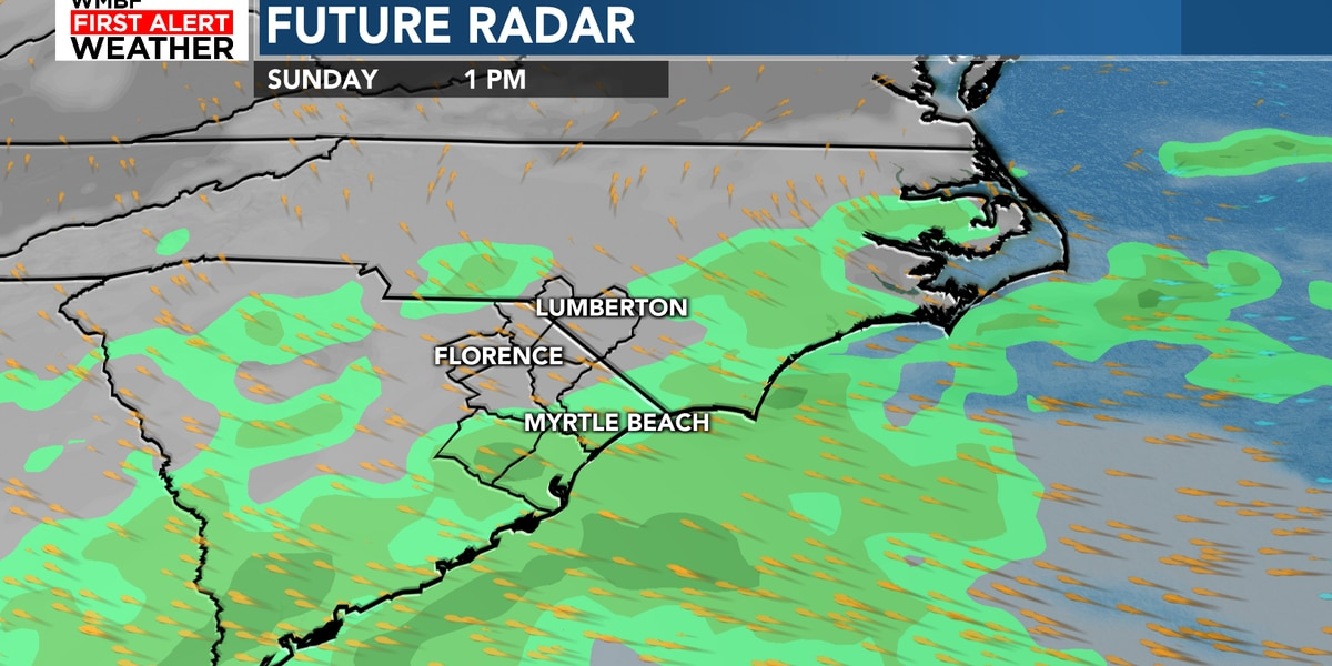 FIRST ALERT: Warming trend returns with a few isolated showers