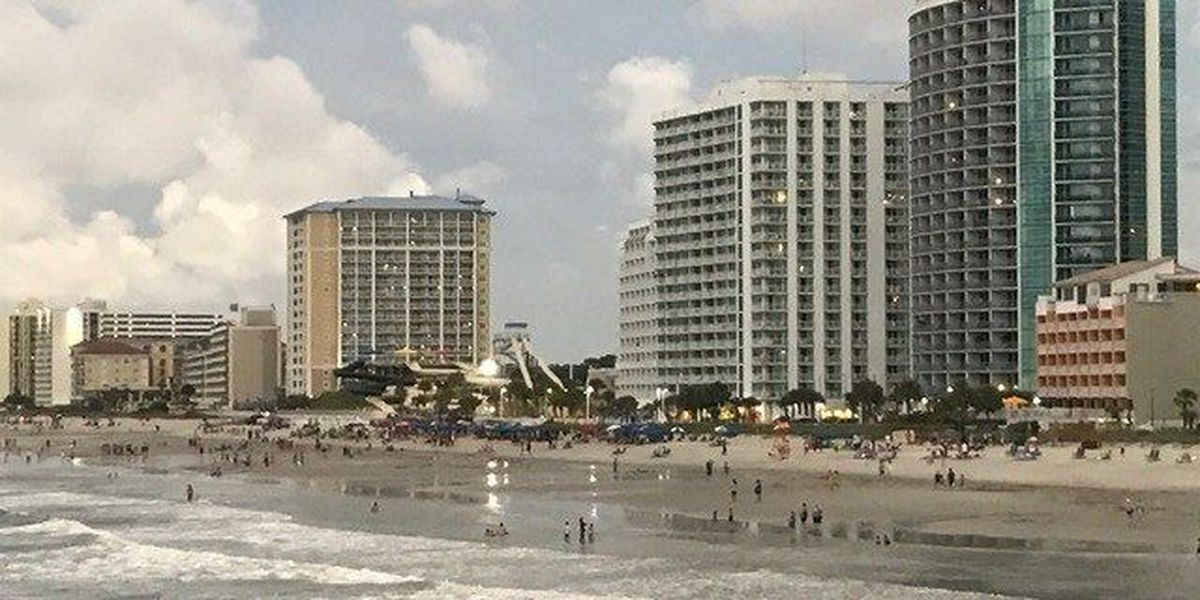 Myrtle Beach visitors enjoy the views, reflect on not-so-stellar weather