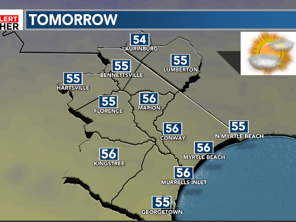 FIRST ALERT: Seasonable weather ahead