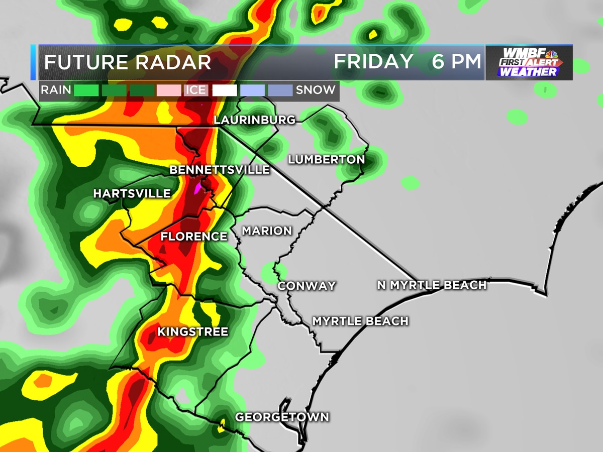 FIRST ALERT: Strong storms expected today; damaging winds are the main concern