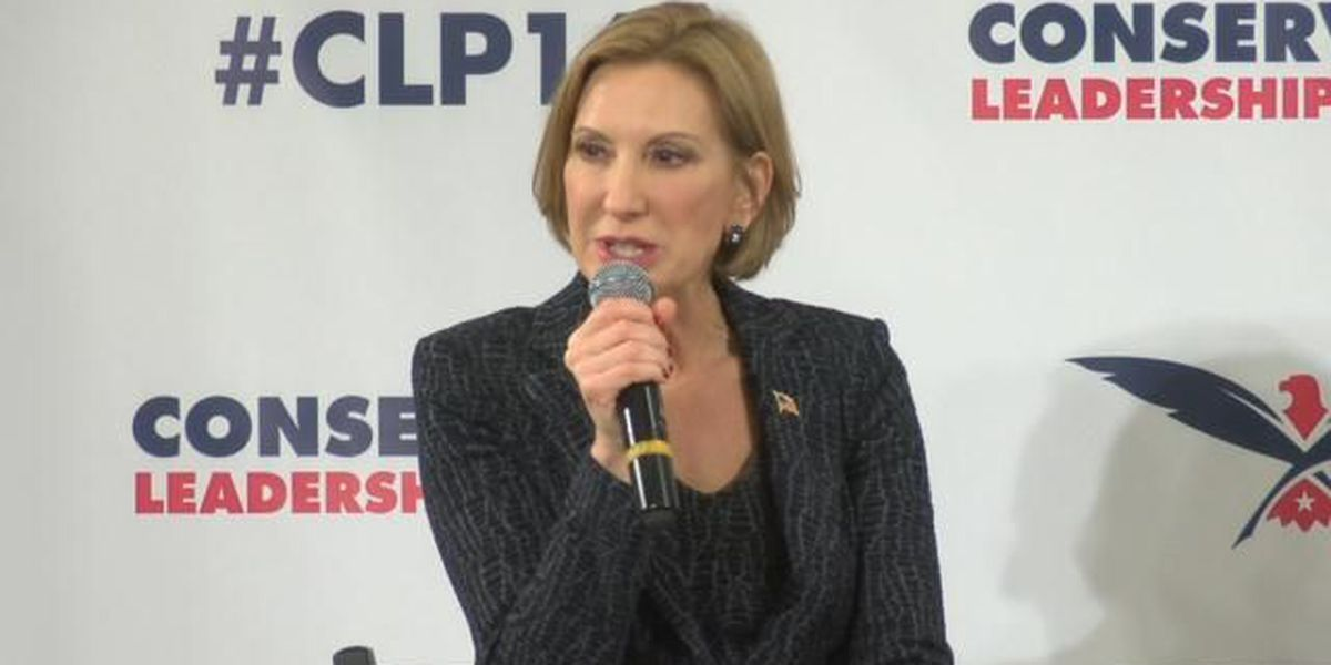 Carly Fiorina discusses constitution, other issues in Myrtle Beach