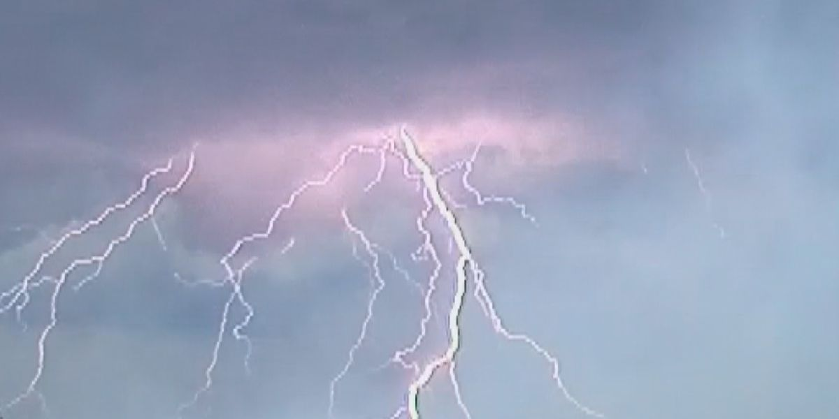 Horry County fire officials give safety tips when stuck outside during lightning storm