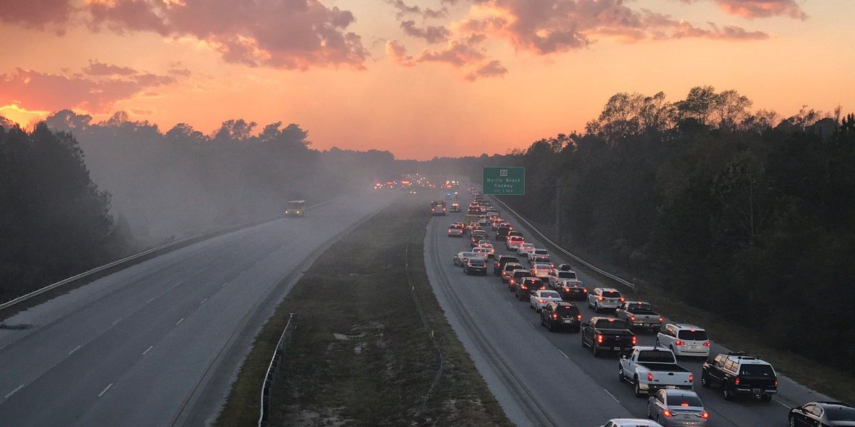 Lanes reopened after vehicle fire backs up traffic on S.C. 31