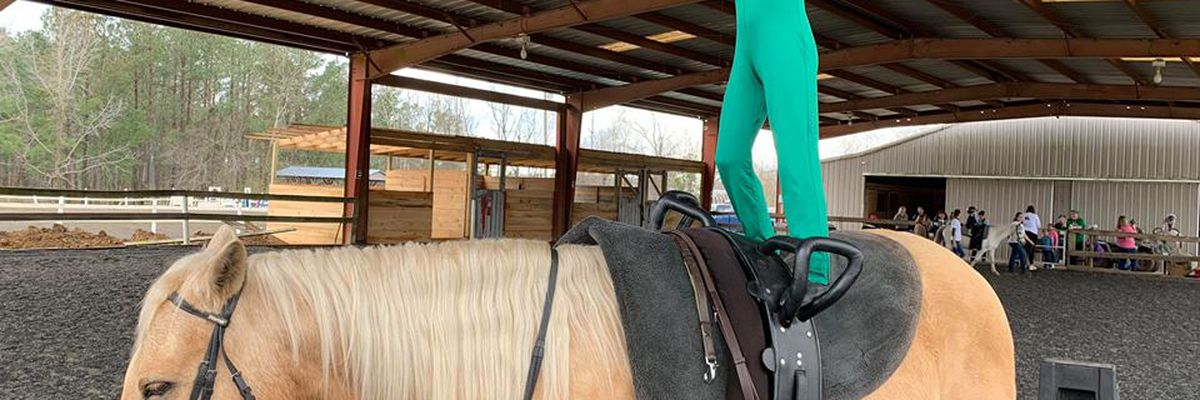 Conway ranch strengthening mental and physical health through horseback riding