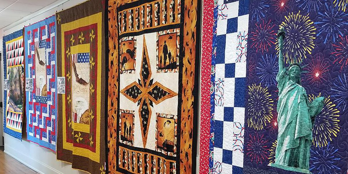 'Quilts of Valor' now on display at the Horry County Museum