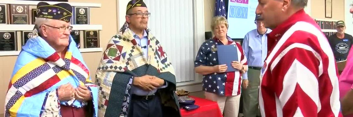Embrace a Veteran: Quilt of Valor Surprise