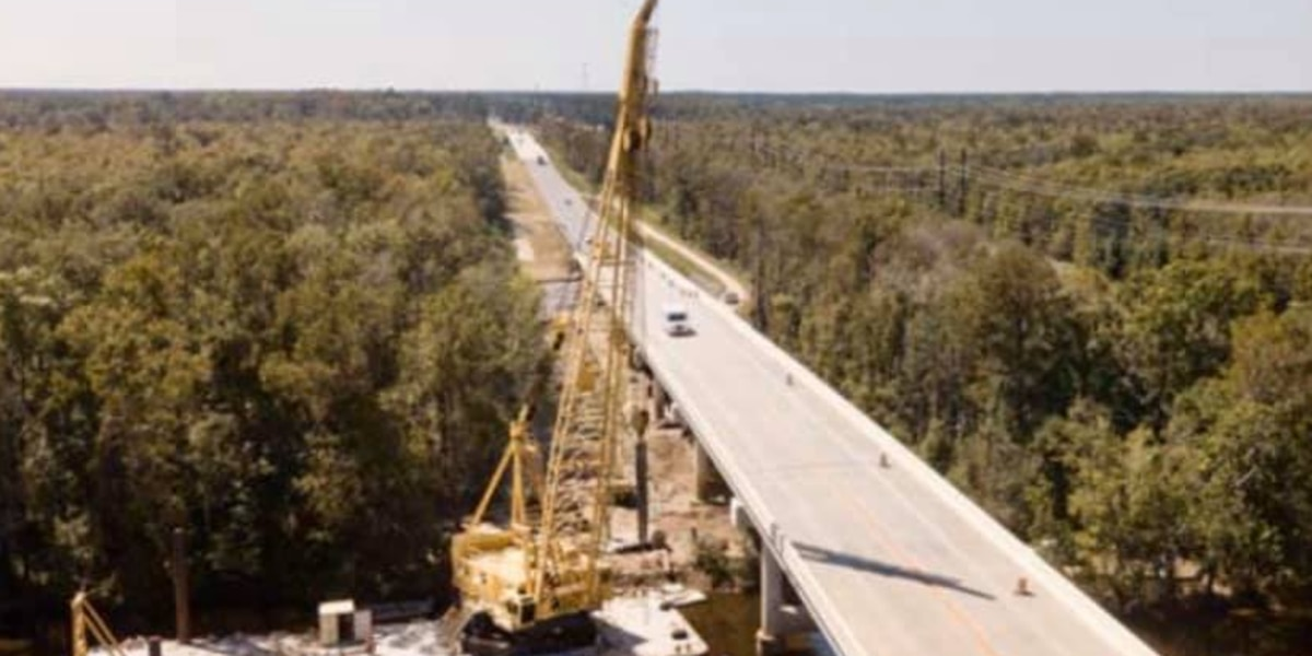 Work continues on S.C. 701 bridge replacement project