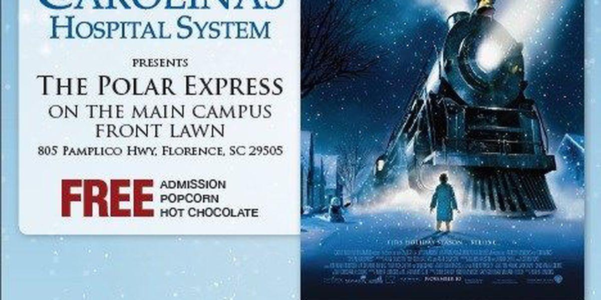 Take a journey on The Polar Express when Carolinas Hospital System hosts free movie night