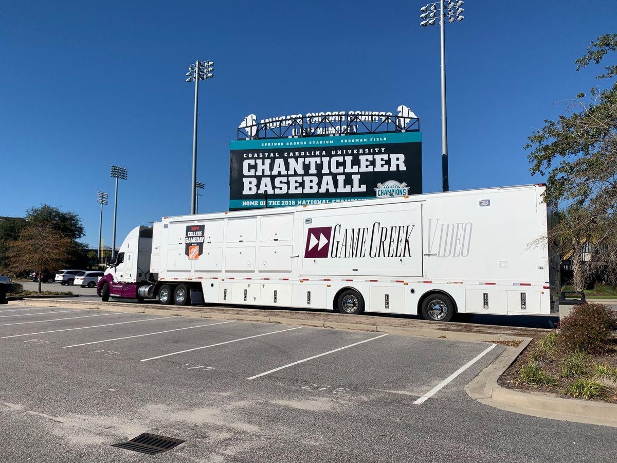 Ccu Plans To Show Saturday S Football Game On Big Screen At Baseball Stadium