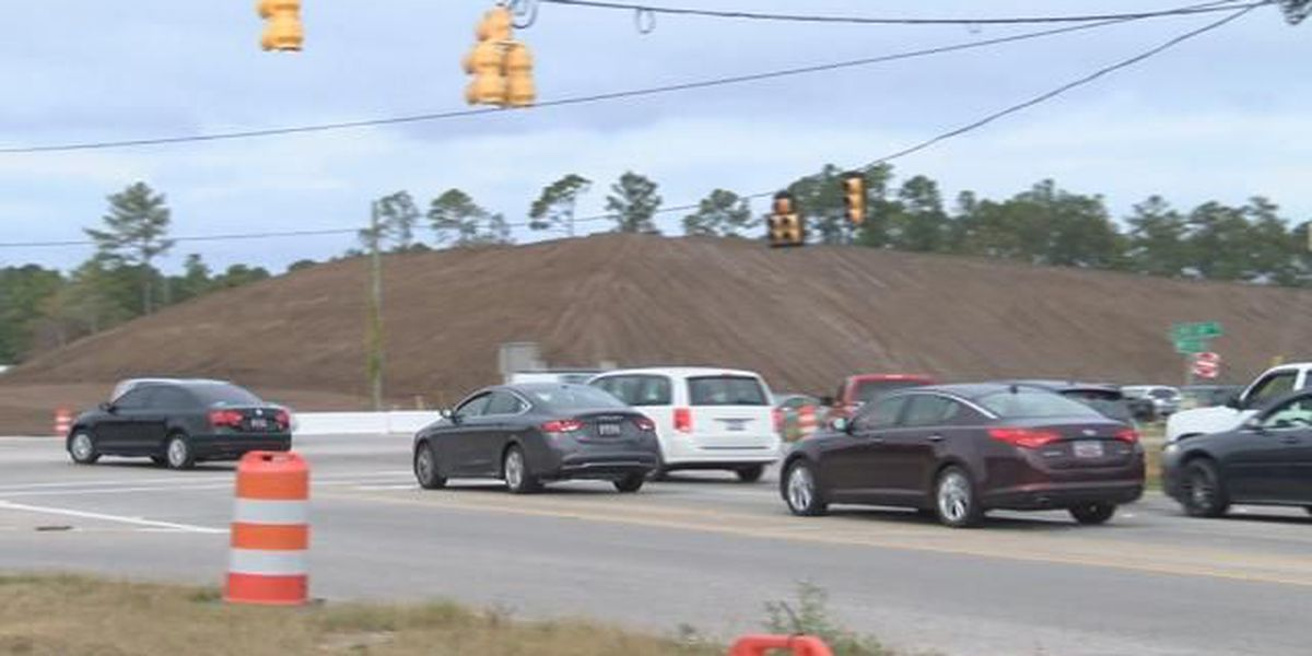Glenns Bay Road Widening and Interchange project on schedule, heading into stage 2