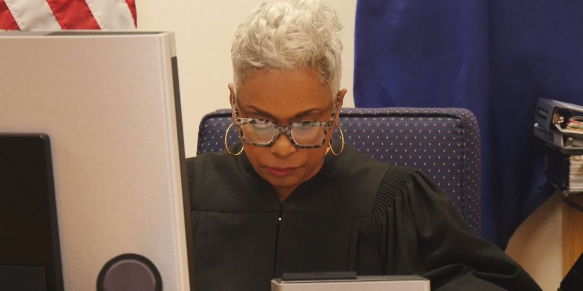 She Thrives: Chief judge making history and a difference in the courtroom