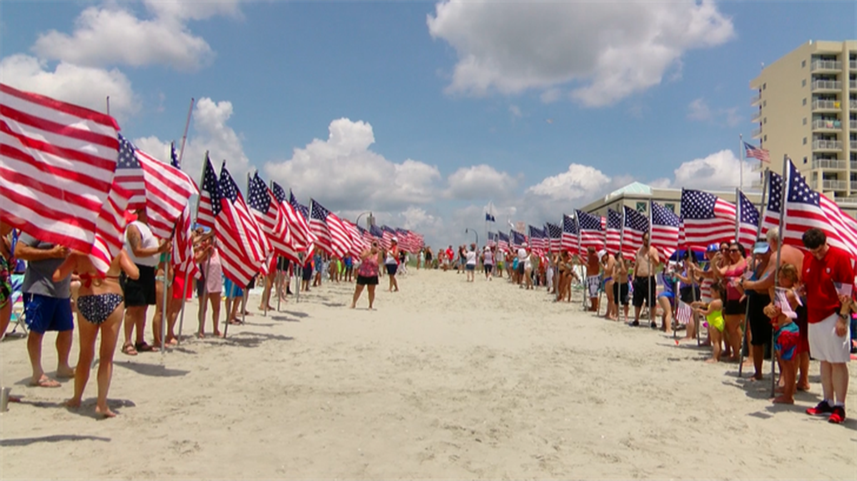 North Myrtle Beach celebrates July 4th with the American Pride March ...