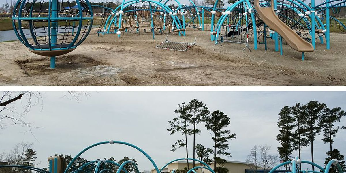 City continues work on phase two of Savannah's Playground