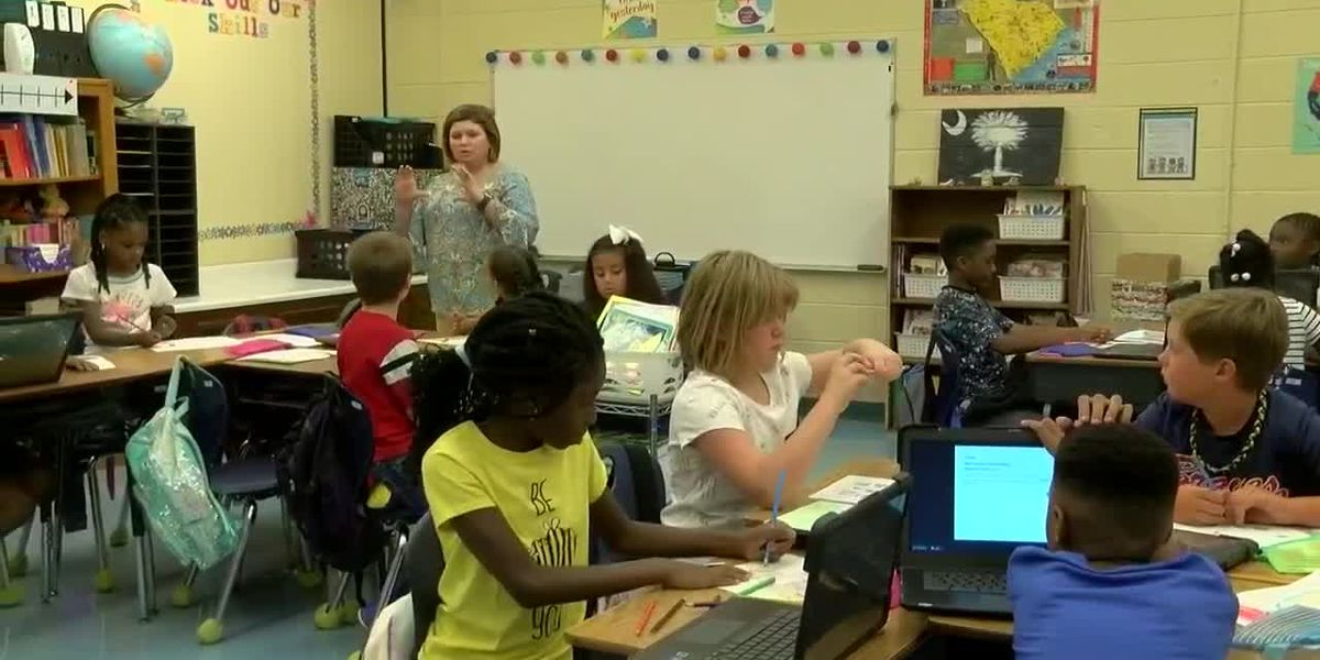 Timrod Elementary Florence district's lone year-round school