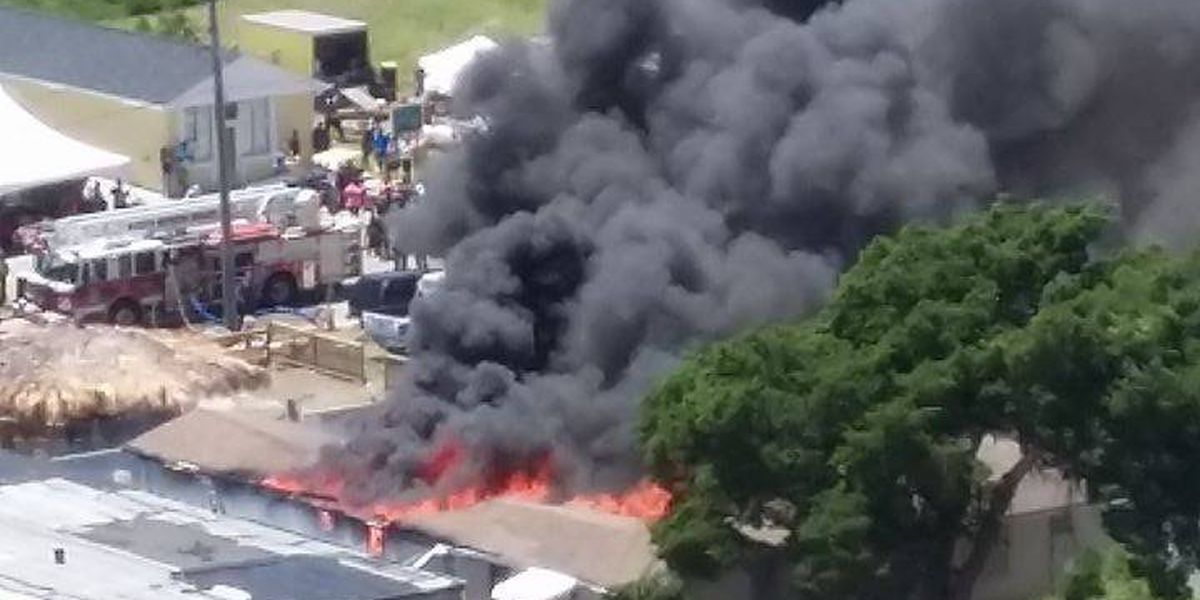 Sunday fire in Atlantic Beach appears to have been accidental