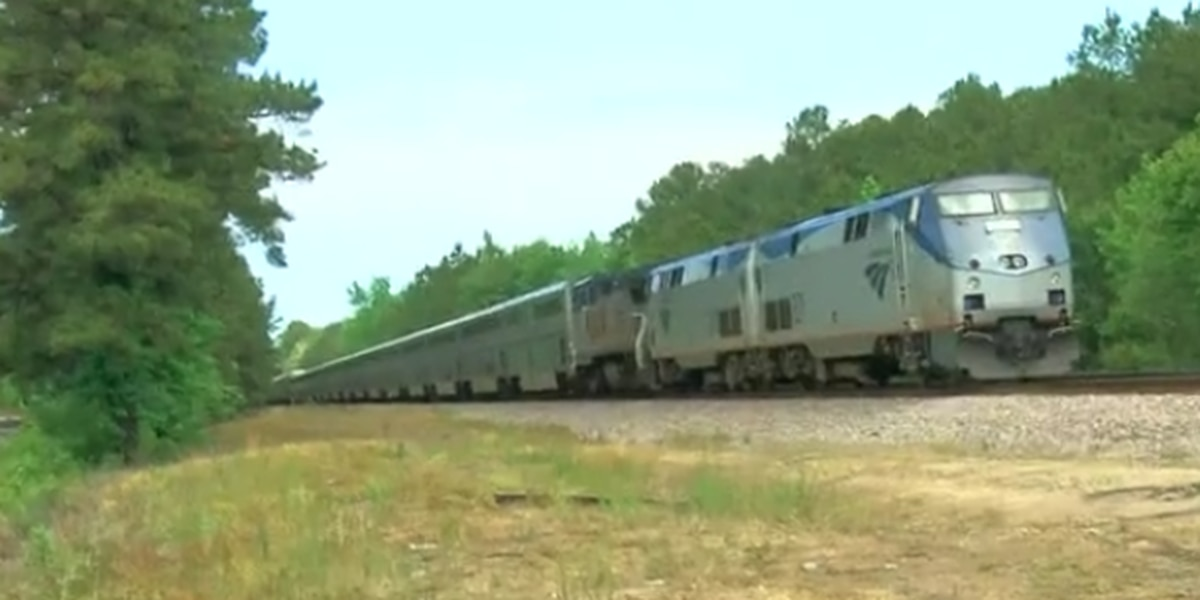 Passenger train stuck for hours in Florence County