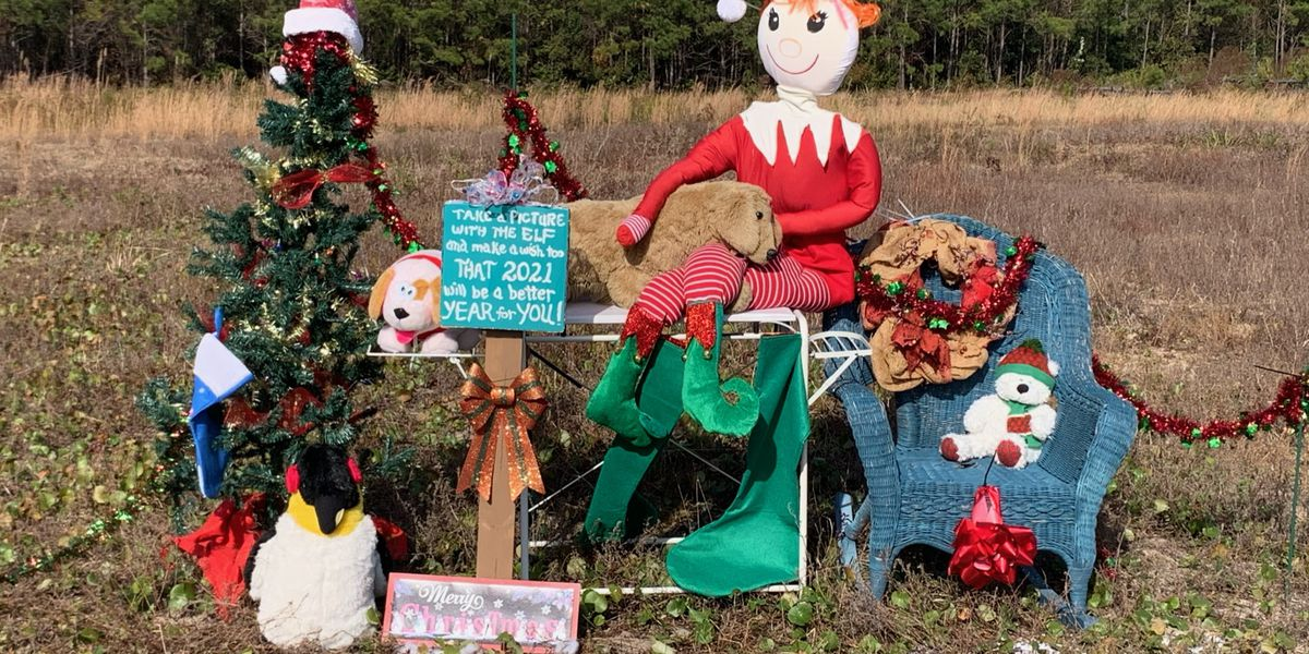 Open field in Little River again filled with holiday decorations