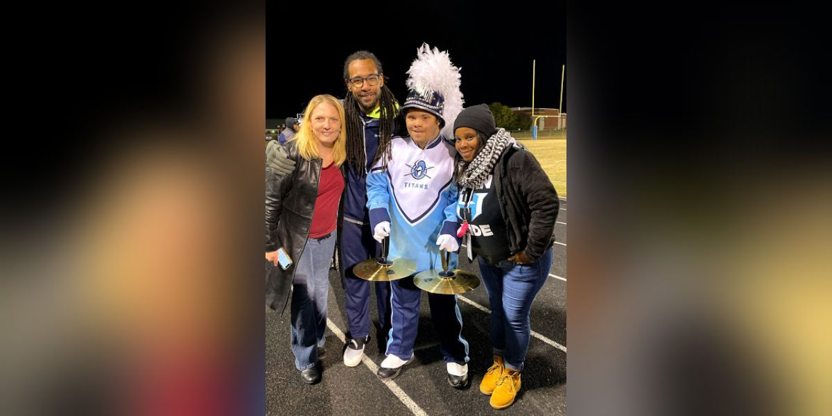 NC student with autism, down syndrome, lives out dream of performing with marching band