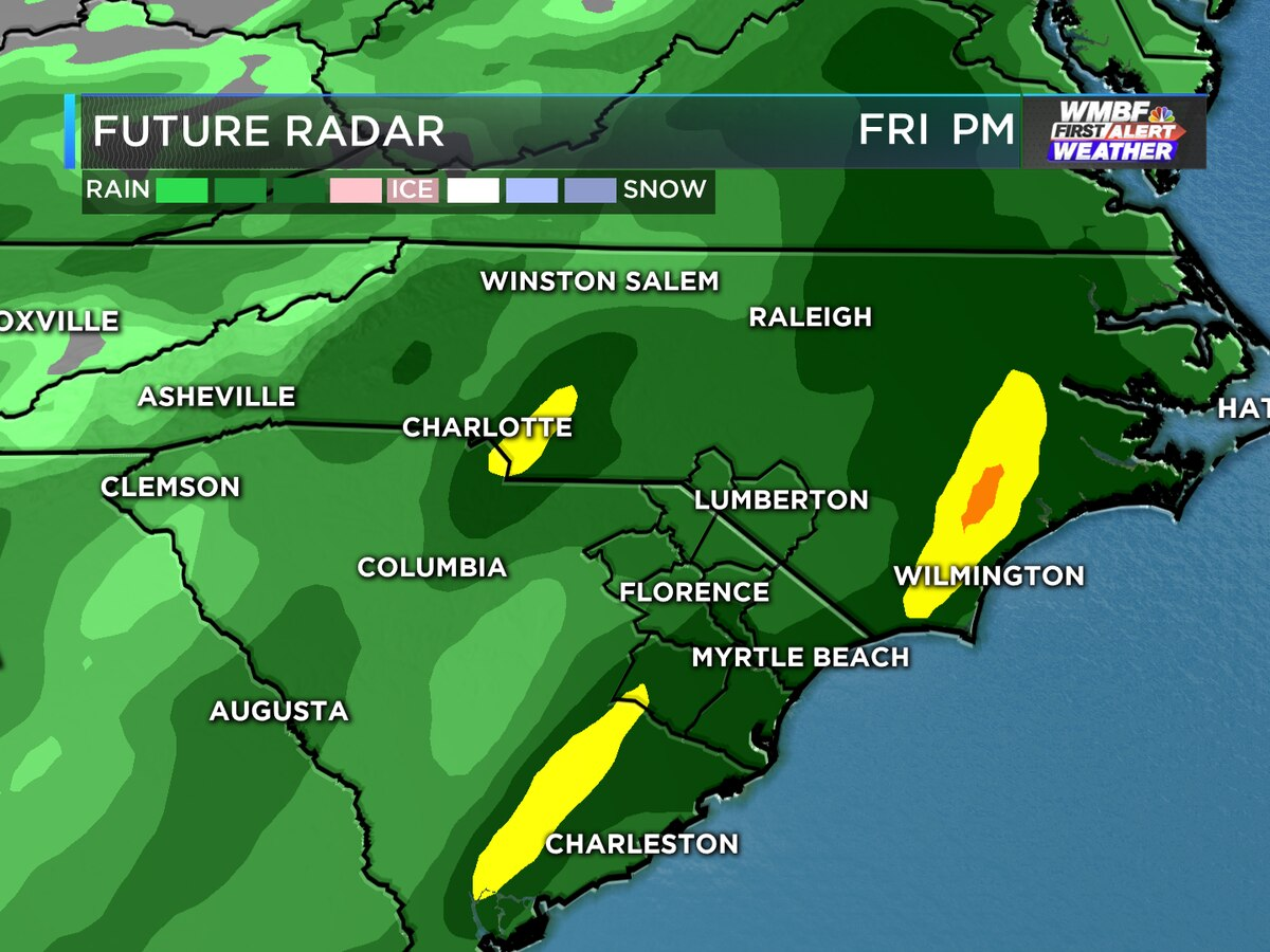 FIRST ALERT: Heavy rain threat returns this week