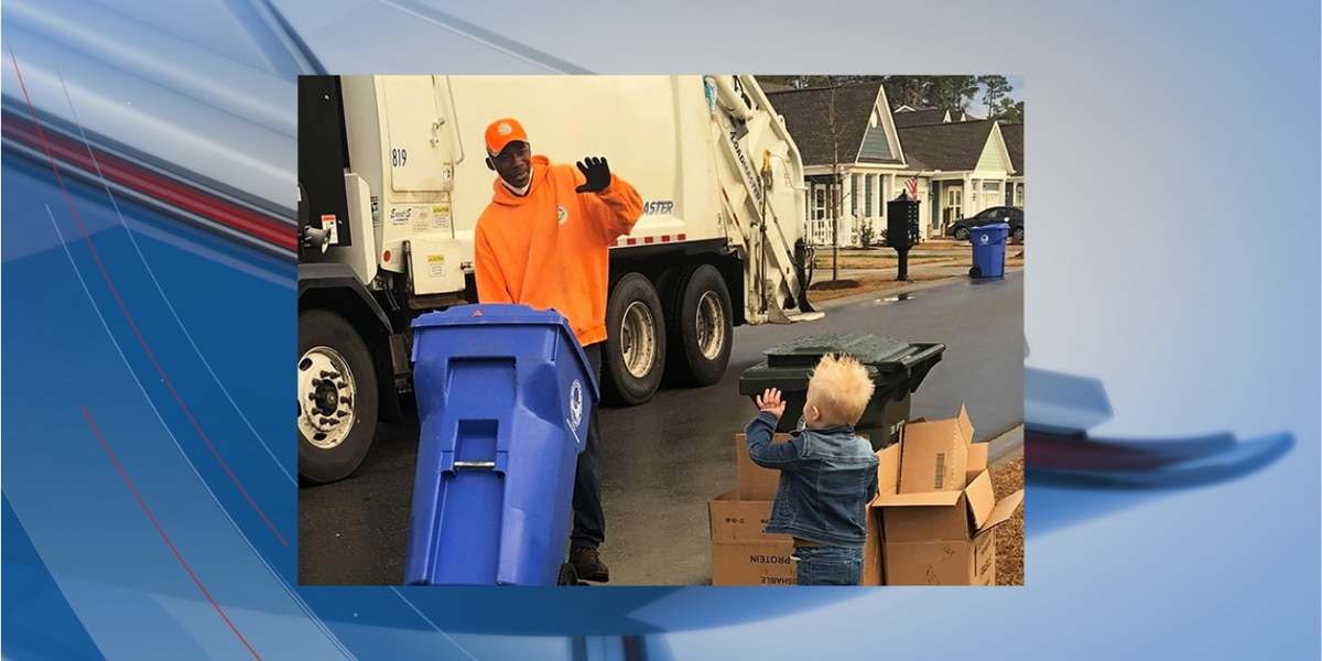 Myrtle Beach 3-year-old befriends solid waste workers in neighborhood