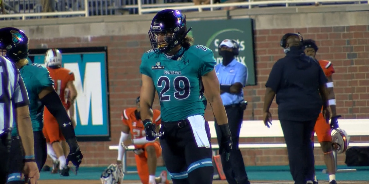 CCU linebacker Silas Kelly named Sun Belt Defensive Player of the Week