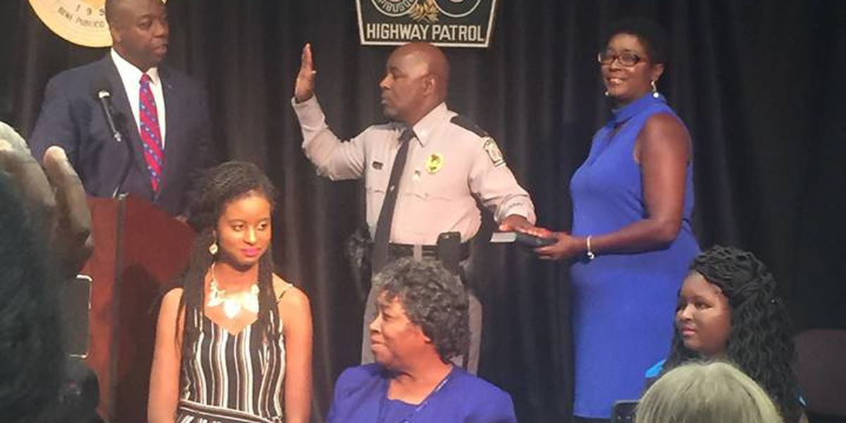 Darlington native sworn in as first African-American commander of SC Highway Patrol